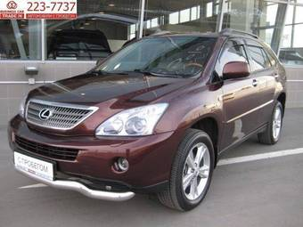 used 2008 lexus rx400h photos 3300cc automatic for sale. Black Bedroom Furniture Sets. Home Design Ideas