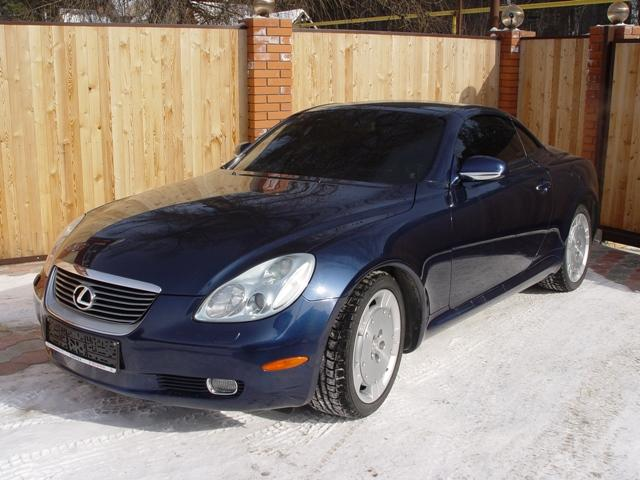 2003 lexus sc430 for sale 4300cc gasoline fr or rr. Black Bedroom Furniture Sets. Home Design Ideas