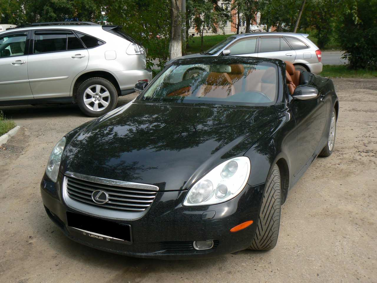 2005 lexus sc430 pictures gasoline fr or rr. Black Bedroom Furniture Sets. Home Design Ideas