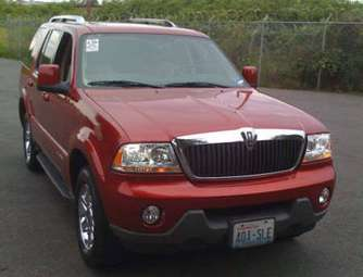 2005 Lincoln Aviator Pictures