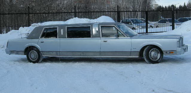 All Info 1995 Lincoln Town Car Limo