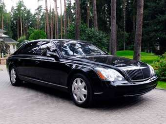 2004 Maybach 62 Pictures