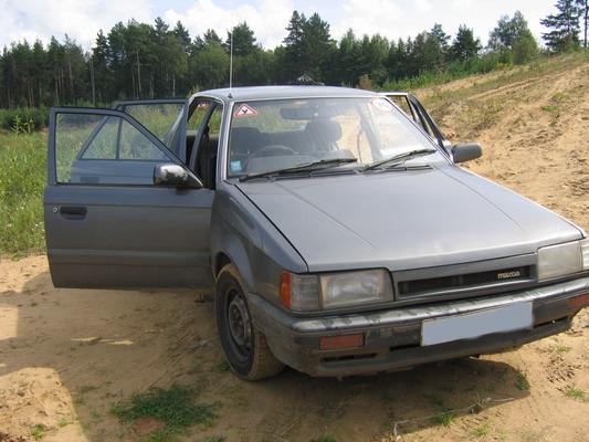 1985 Mazda 323 Pictures  1300cc   Gasoline  Ff  Manual For Sale