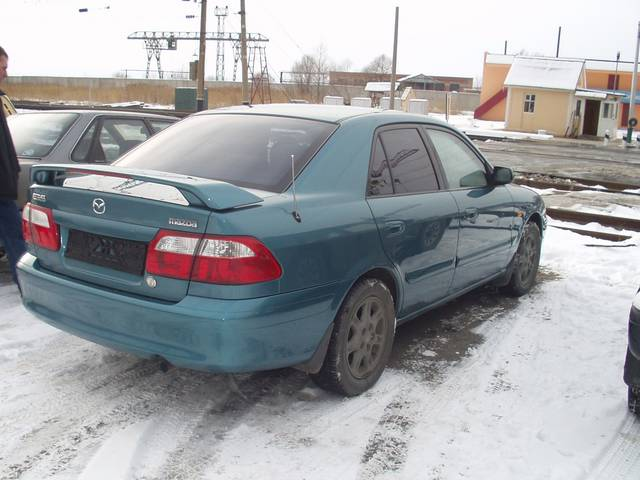 2000 Mazda 626 Is This A Crashed Vehicle Yes No