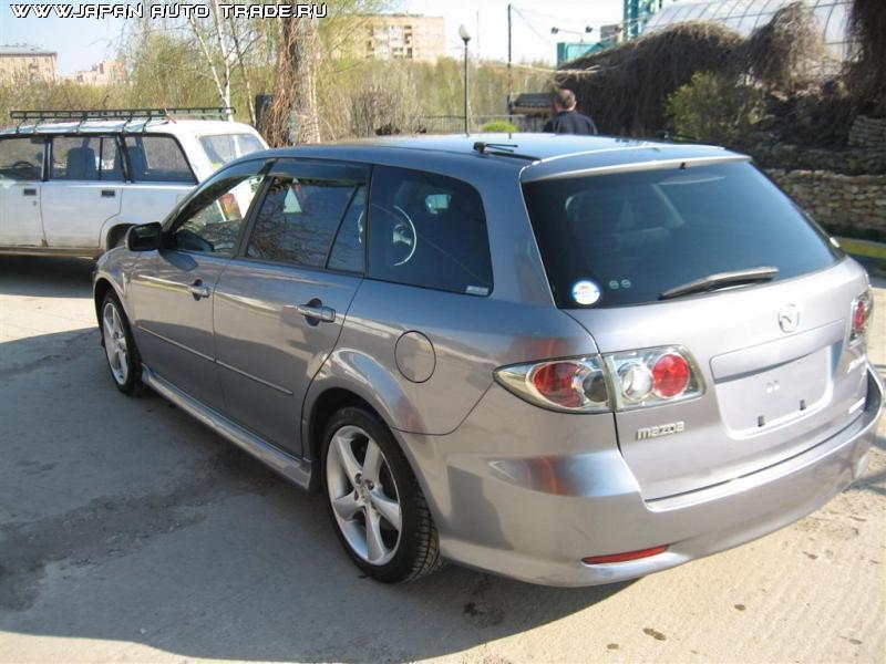 2003 Mazda Atenza Sport Wagon Wallpapers 23l Gasoline Ff