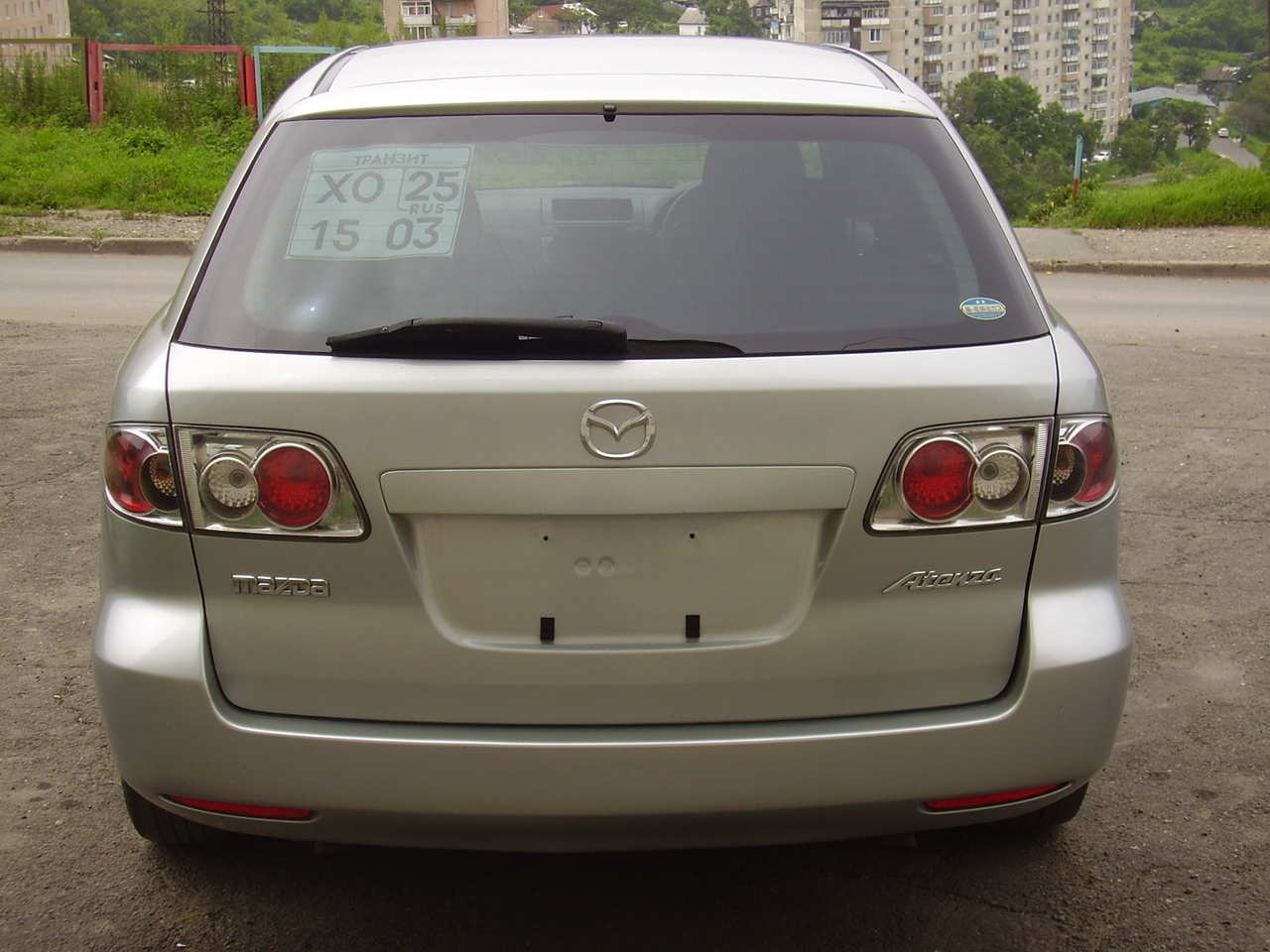 2004 mazda atenza sport wagon for sale 2 3 gasoline automatic for sale. Black Bedroom Furniture Sets. Home Design Ideas