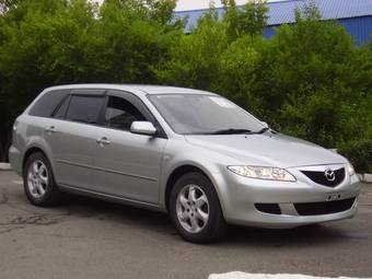 2004 mazda atenza sport wagon pictures 2300cc gasoline automatic for sale. Black Bedroom Furniture Sets. Home Design Ideas