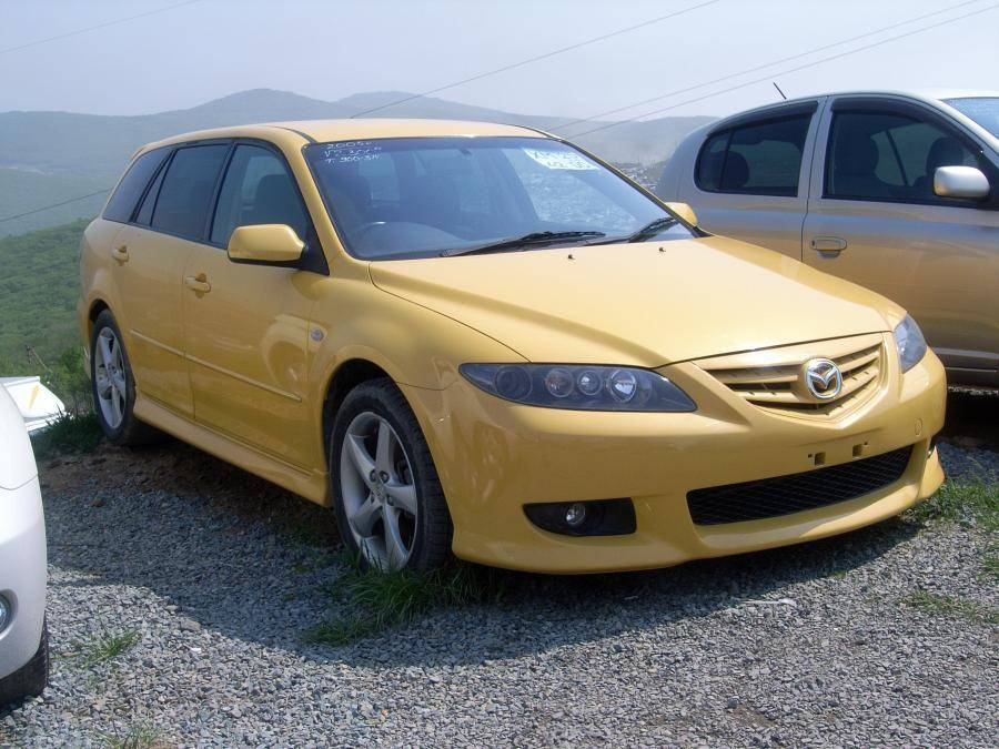2005 mazda atenza sport wagon photos 2 3 gasoline ff automatic for sale. Black Bedroom Furniture Sets. Home Design Ideas