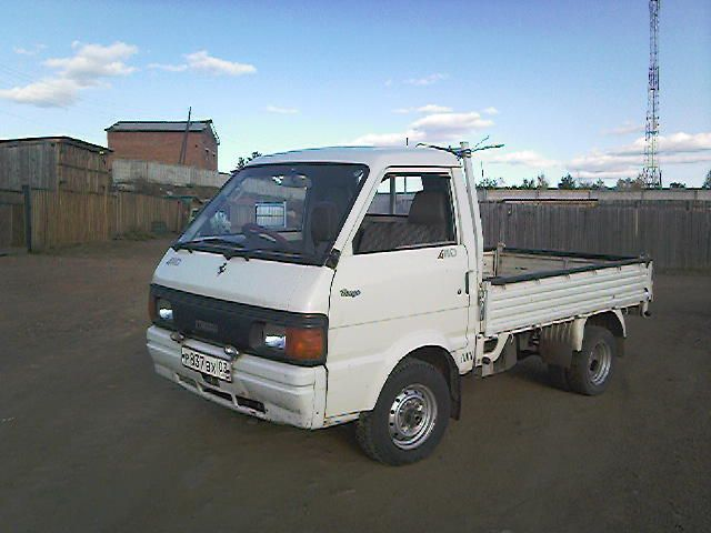 1994 Mazda Bongo specs: mpg, towing capacity, size, photos