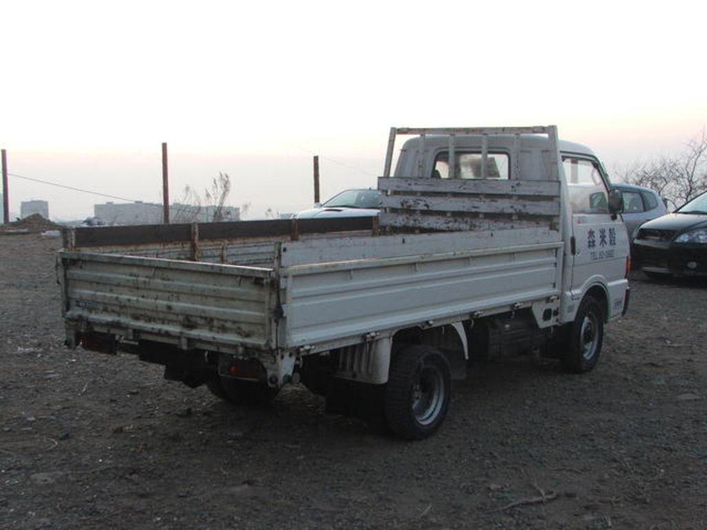 1993 Mazda Bongo Brawny specs: mpg, towing capacity, size ...