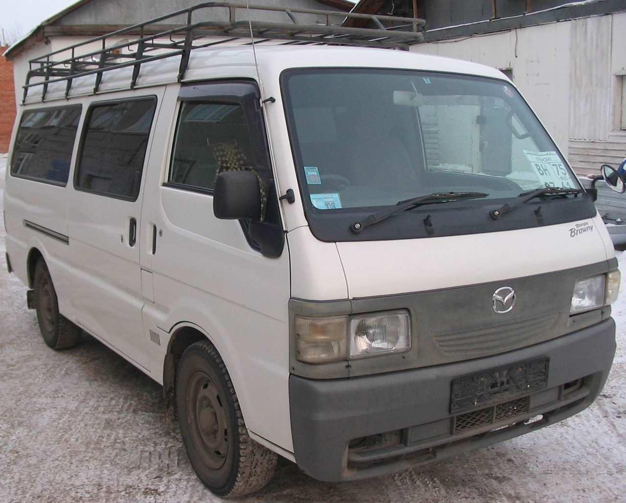 Used 2000 Mazda Bongo Brawny Photos, 2500cc., Diesel, FR or RR, Manual For Sale
