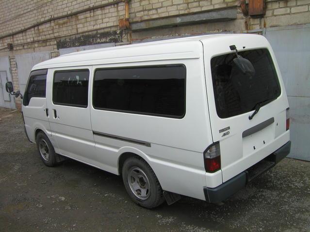 2000 Mazda Bongo Brawny VAN For Sale, 2500cc., Diesel, Manual For Sale