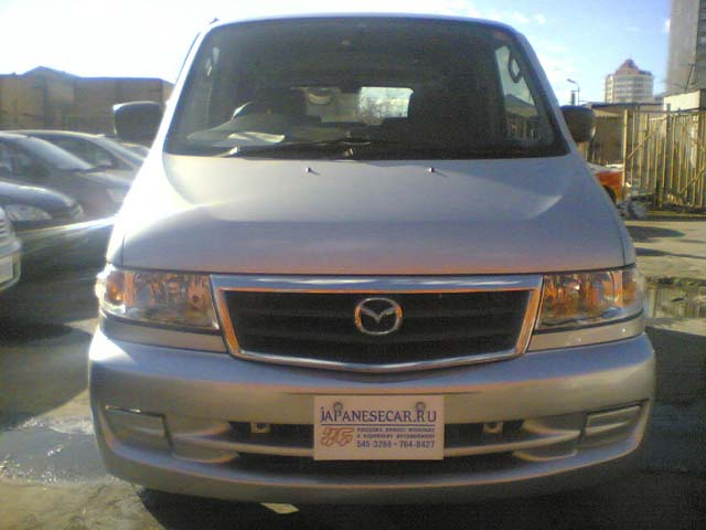 2001 Mazda Bongo Friendee Photos