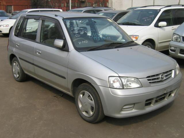 Mazda Demio Festiva Mini-wagon