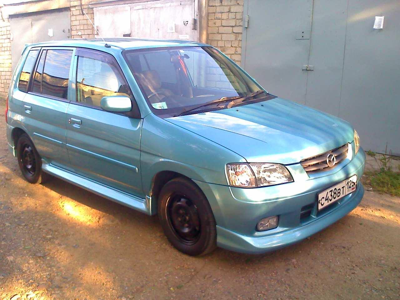 2002 Mazda Demio Pictures, 1.3l., Gasoline, FF, Automatic For Sale