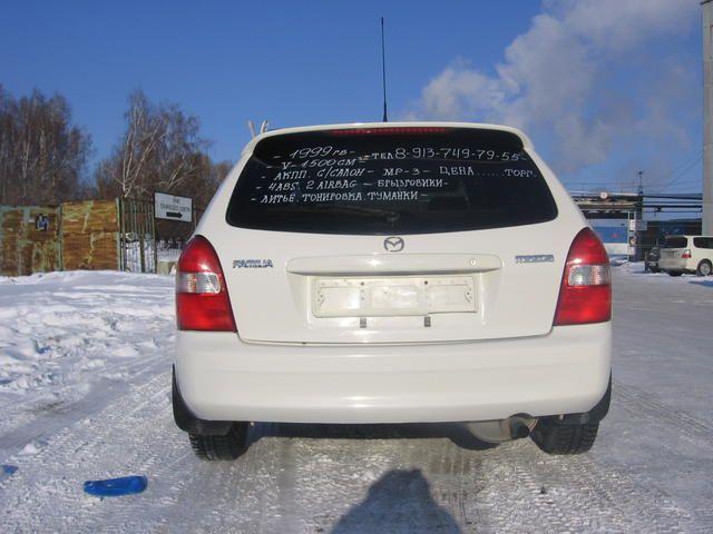 1999 Mazda Familia S Wagon Pictures