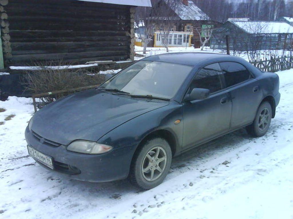 1994 Mazda Lantis Specs  Engine Size 1800cm3  Fuel Type