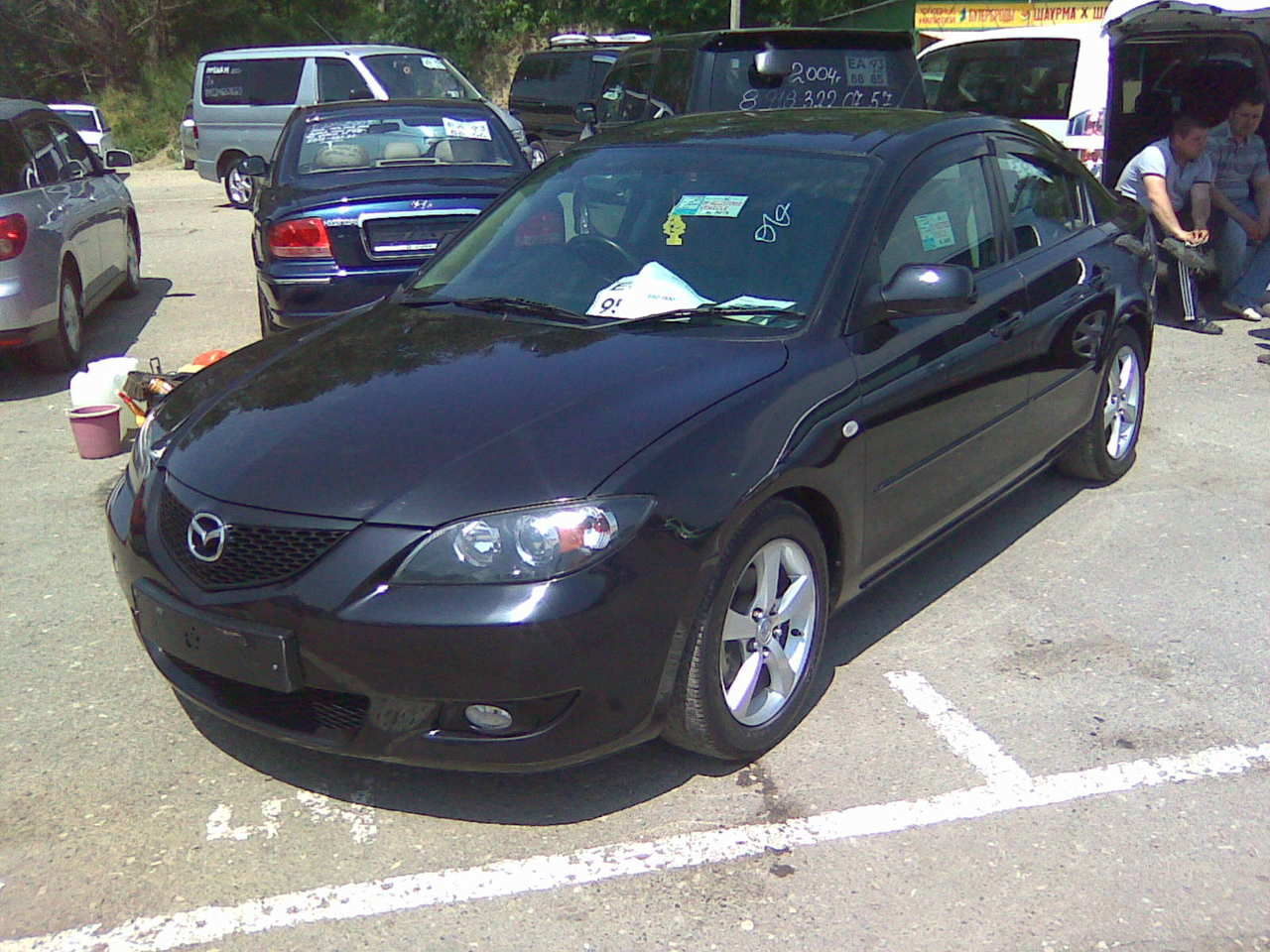 used 2003 mazda mazda3 photos, 1600cc., gasoline, ff, automatic