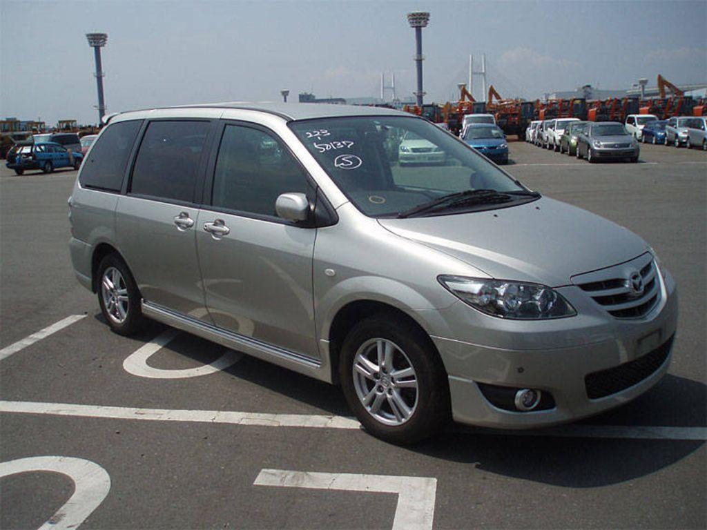 2003 Mazda Mpv Pictures 2300cc Gasoline Automatic For Sale