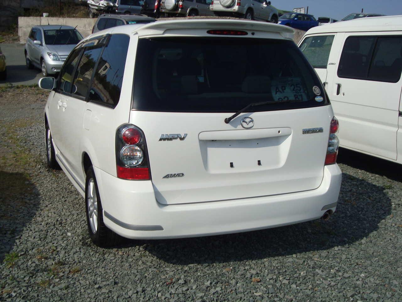 2003 mazda mpv photos, 2.3, gasoline, automatic for