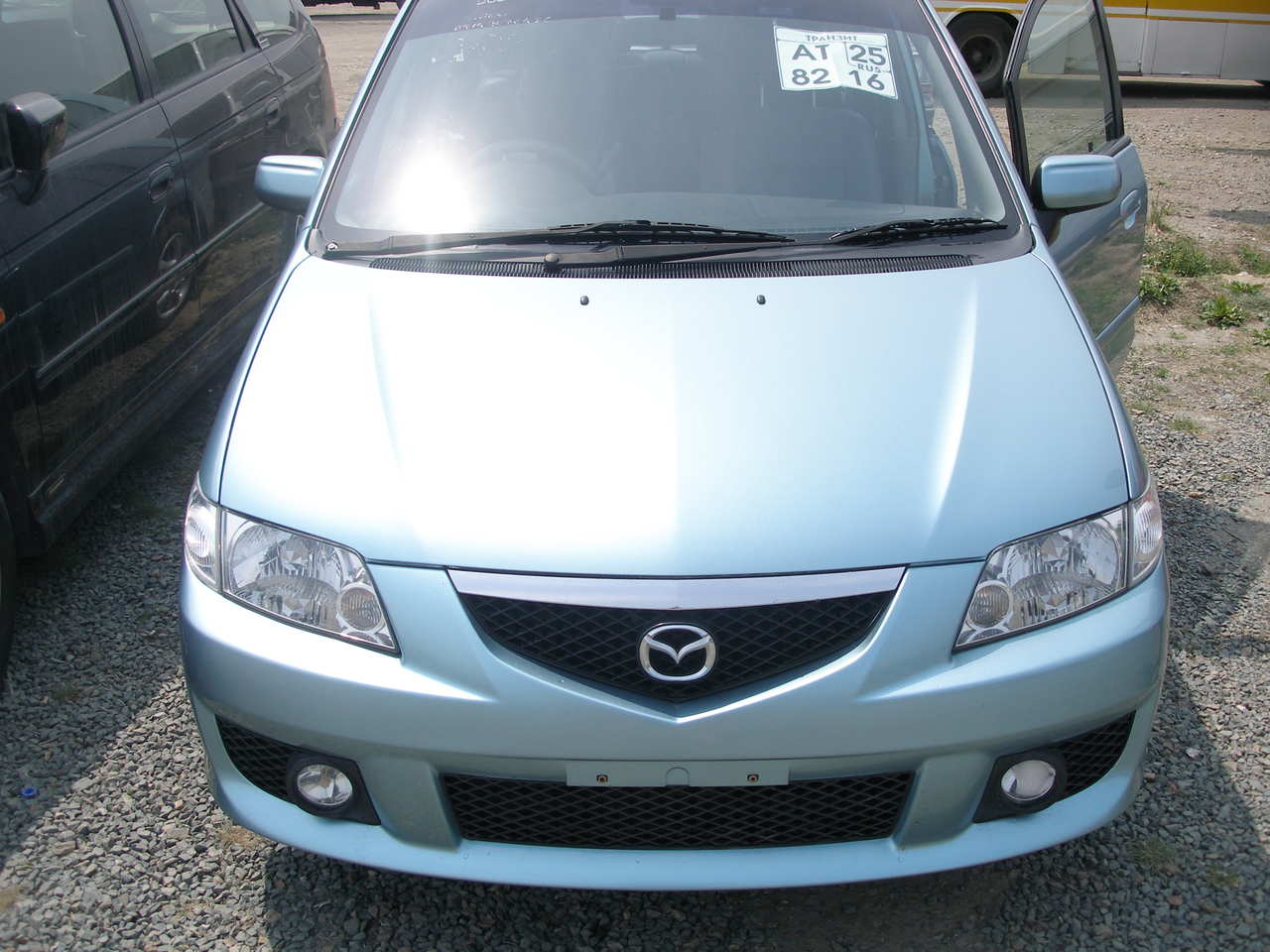 used 2003 mazda premacy images 2000cc gasoline ff automatic for sale. Black Bedroom Furniture Sets. Home Design Ideas