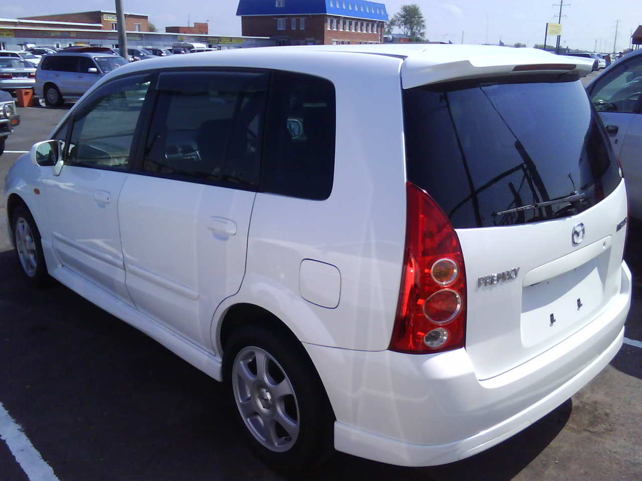 2004 mazda premacy pictures gasoline ff automatic for sale. Black Bedroom Furniture Sets. Home Design Ideas
