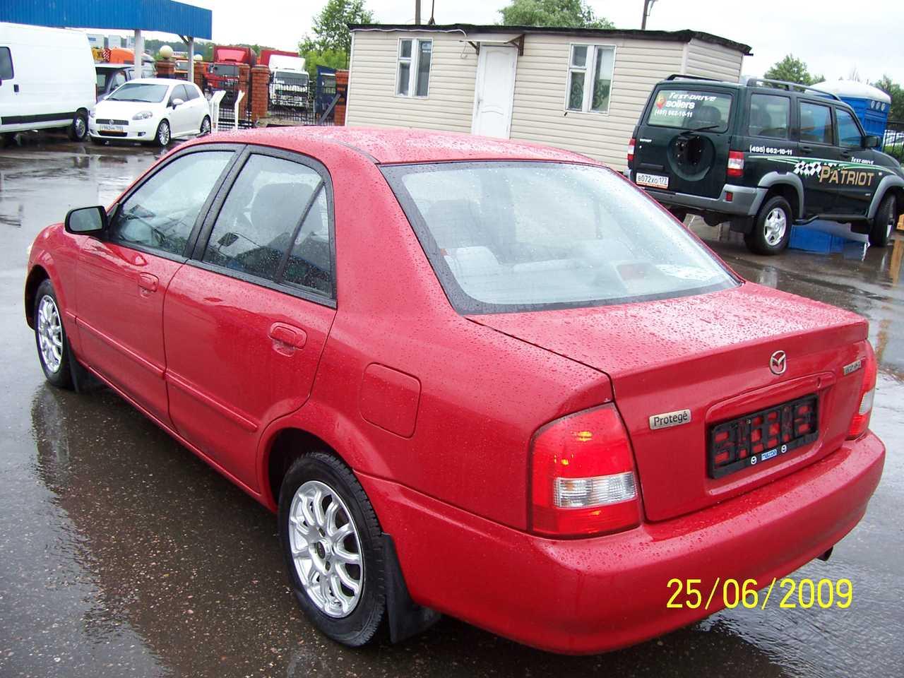 1999 mazda protege for , 1598cc., gasoline, ff, automatic for
