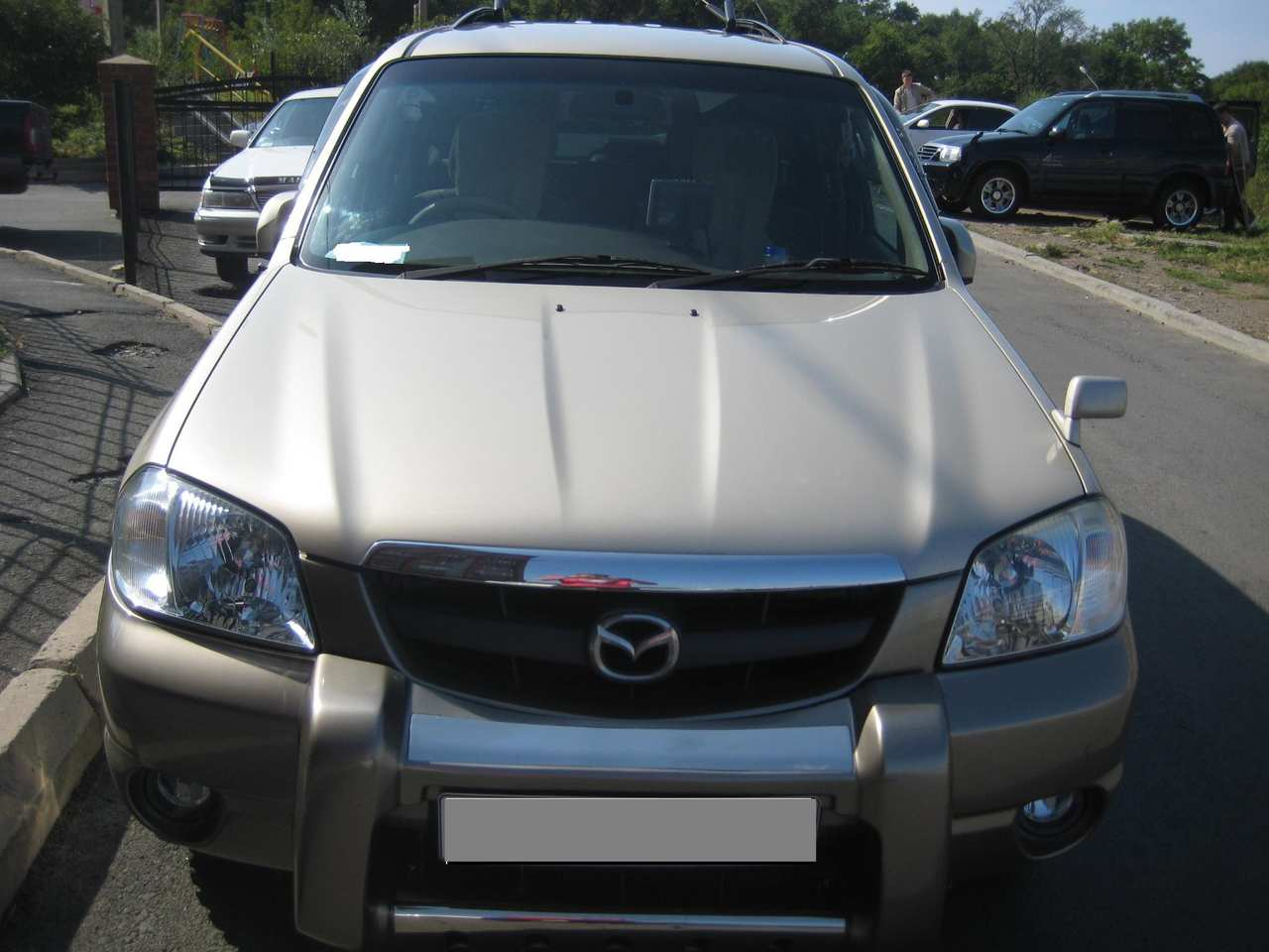Used 2001 mazda tribute photos 3000cc gasoline automatic for sale