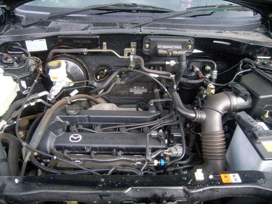 Removing 2010 Mazda Tribute Engine