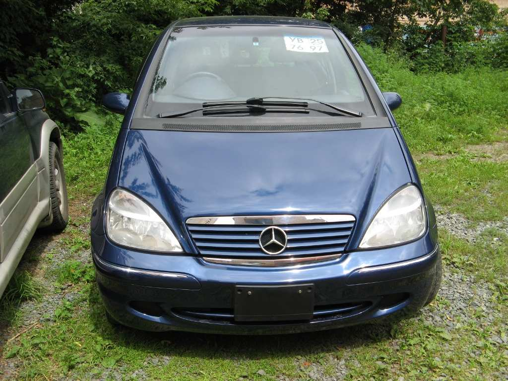 2002 mercedes benz a class pictures 1600cc gasoline ff. Black Bedroom Furniture Sets. Home Design Ideas