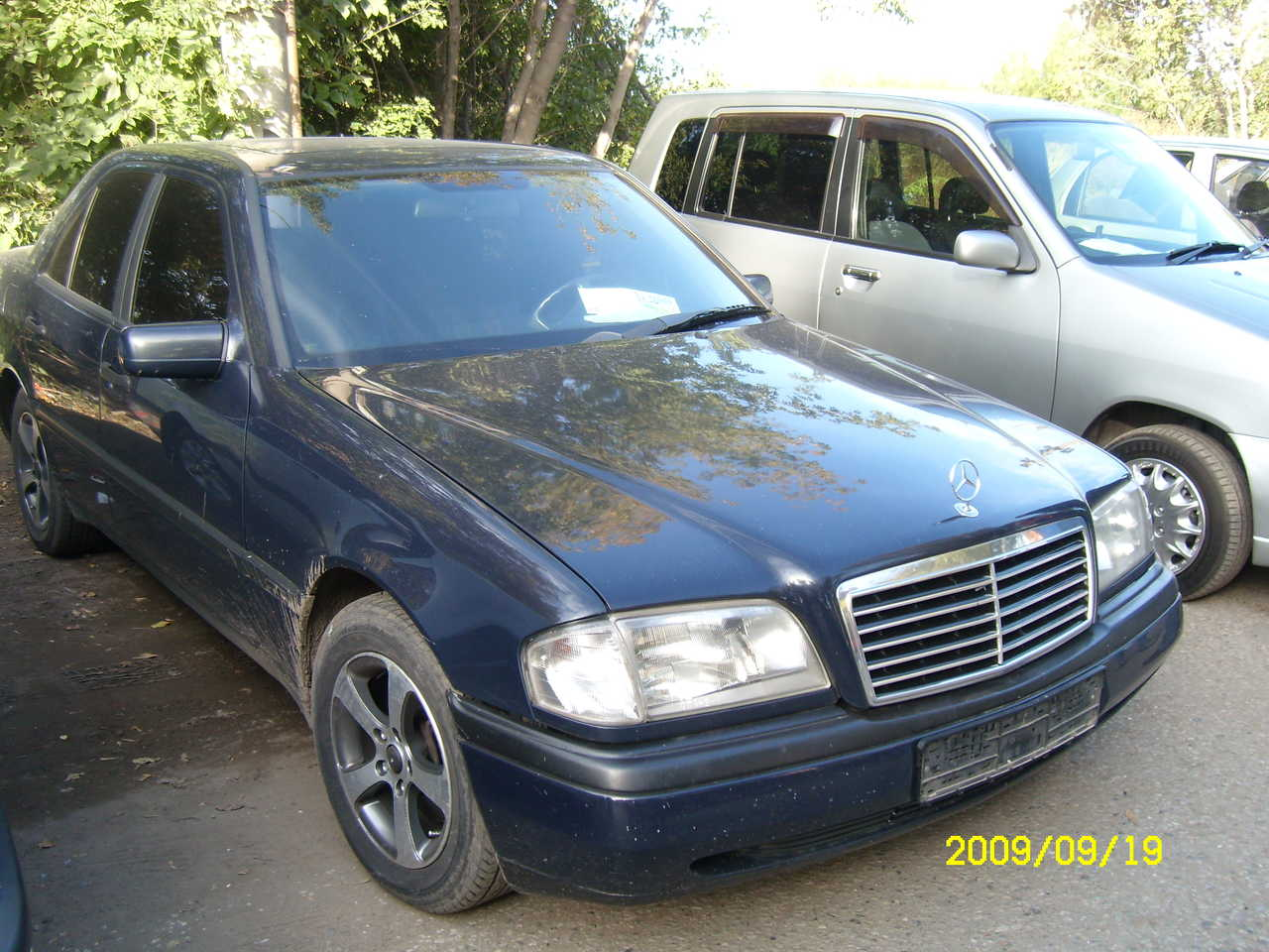 Service manual how cars run 1993 mercedes benz c class for Mercedes benz c class service b