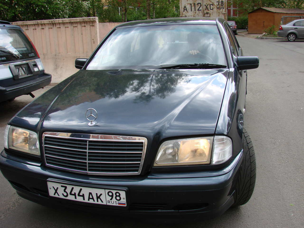 1998 mercedes benz c class pictures 1800cc gasoline fr for Common problems with mercedes benz c class