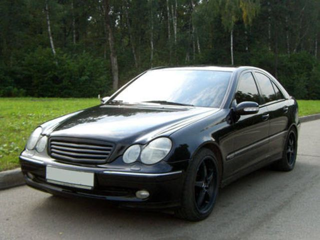 2000 mercedes benz c class pictures. Black Bedroom Furniture Sets. Home Design Ideas