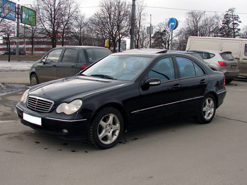 2001 mercedes benz c class for sale 2 0 gasoline fr or for Mercedes benz c class 2001