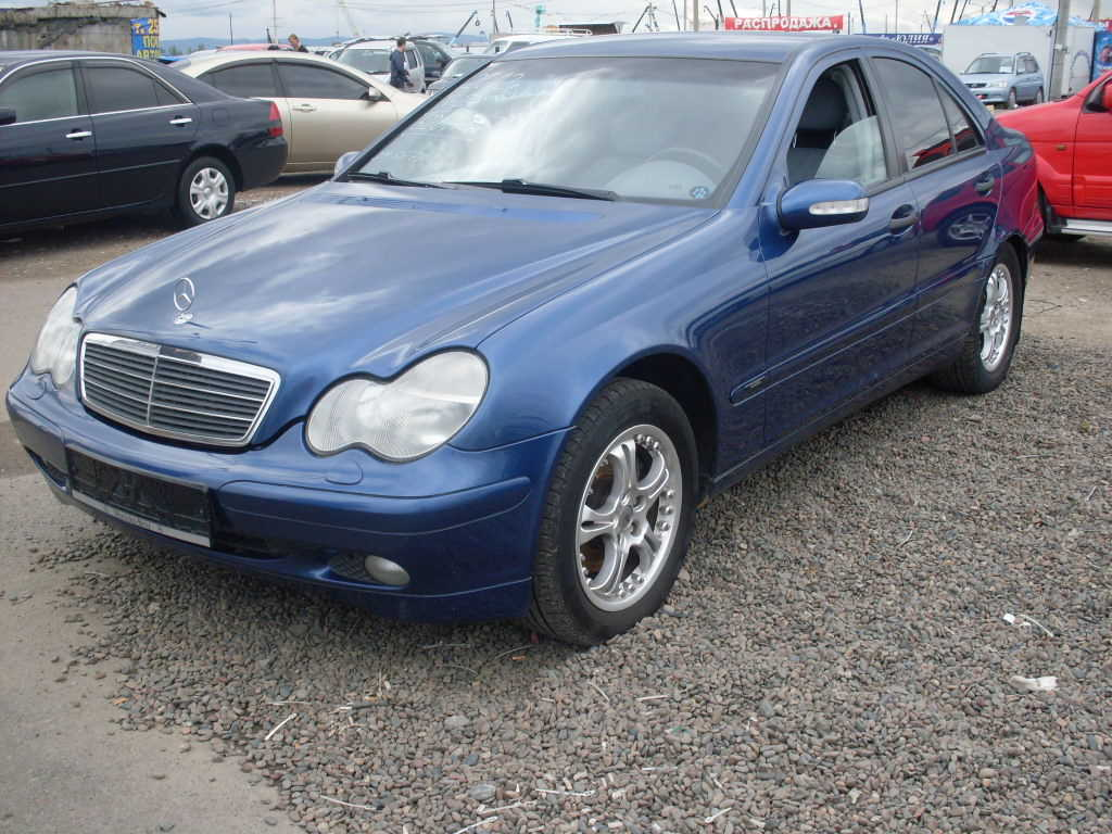 2002 mercedes benz c class pics 2 0 gasoline fr or rr. Black Bedroom Furniture Sets. Home Design Ideas