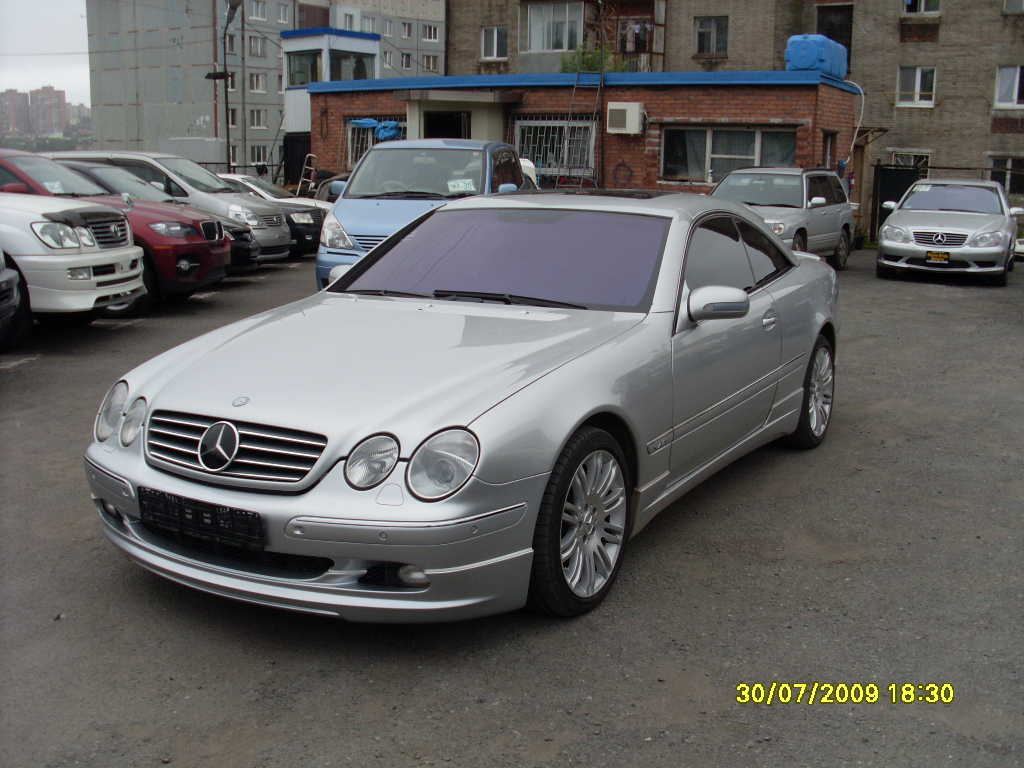 used 2000 mercedes benz cl class photos 6000cc gasoline fr or rr automatic for sale. Black Bedroom Furniture Sets. Home Design Ideas