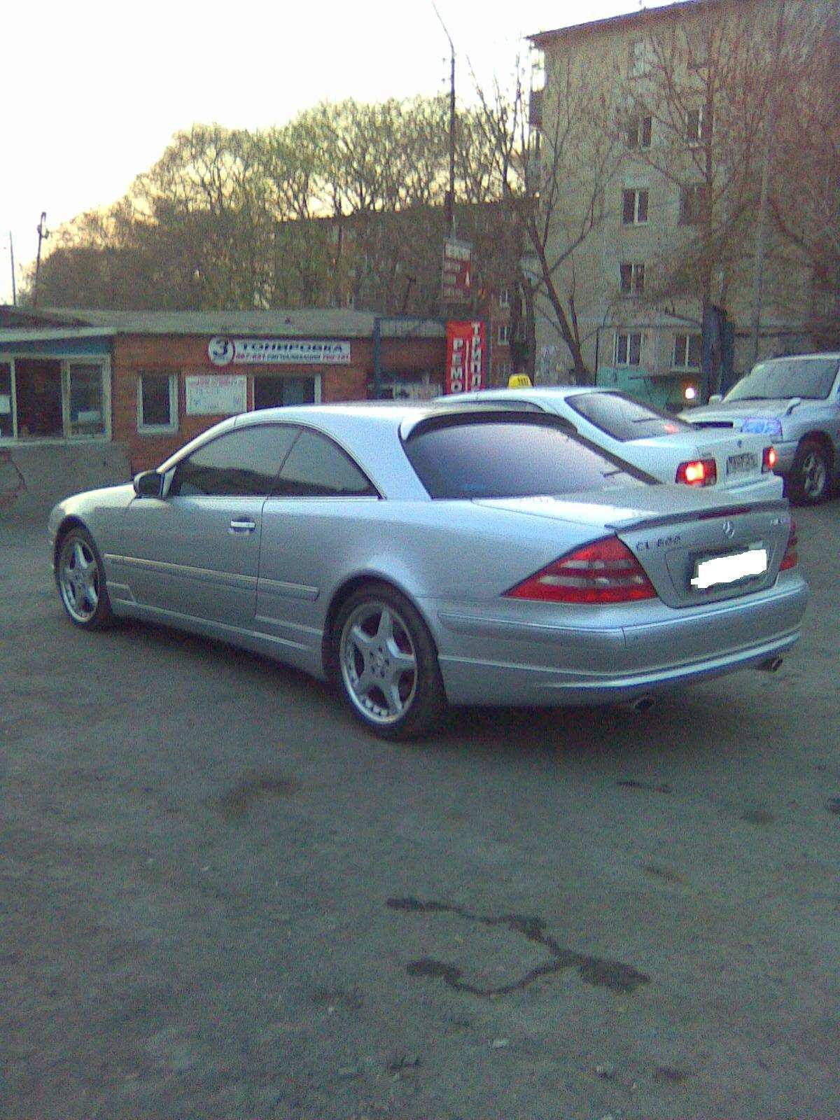 2001 mercedes benz cl class for sale 6 0 gasoline fr or for Mercedes benz cl class for sale