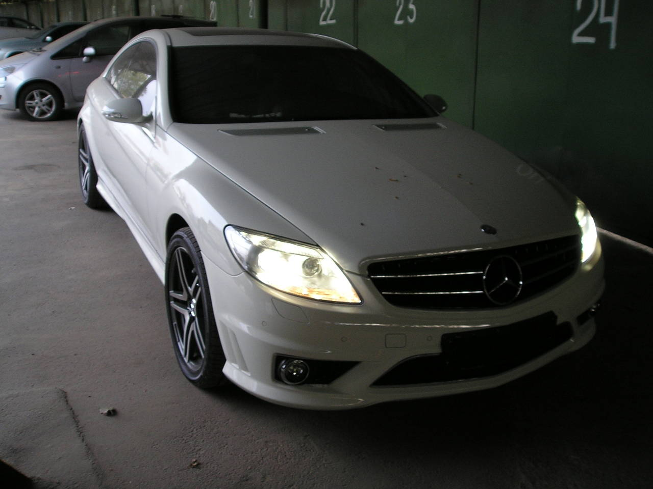 2008 mercedes benz cl class for sale 5 0 gasoline fr or for Mercedes benz 2008 for sale