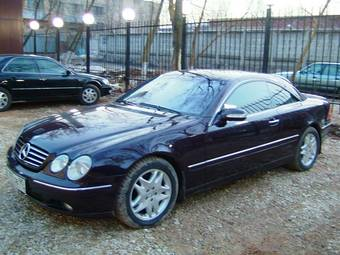 1999 Mercedes Benz Cl500 Pictures 5 0l Gasoline Fr Or