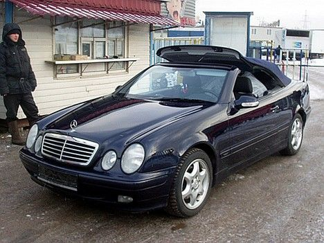 2001 mercedes benz clk cabrio pictures 2000cc gasoline automatic for sale. Black Bedroom Furniture Sets. Home Design Ideas