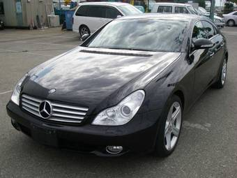2005 mercedes benz cls class pics 3 5 gasoline fr or rr automatic for sale. Black Bedroom Furniture Sets. Home Design Ideas