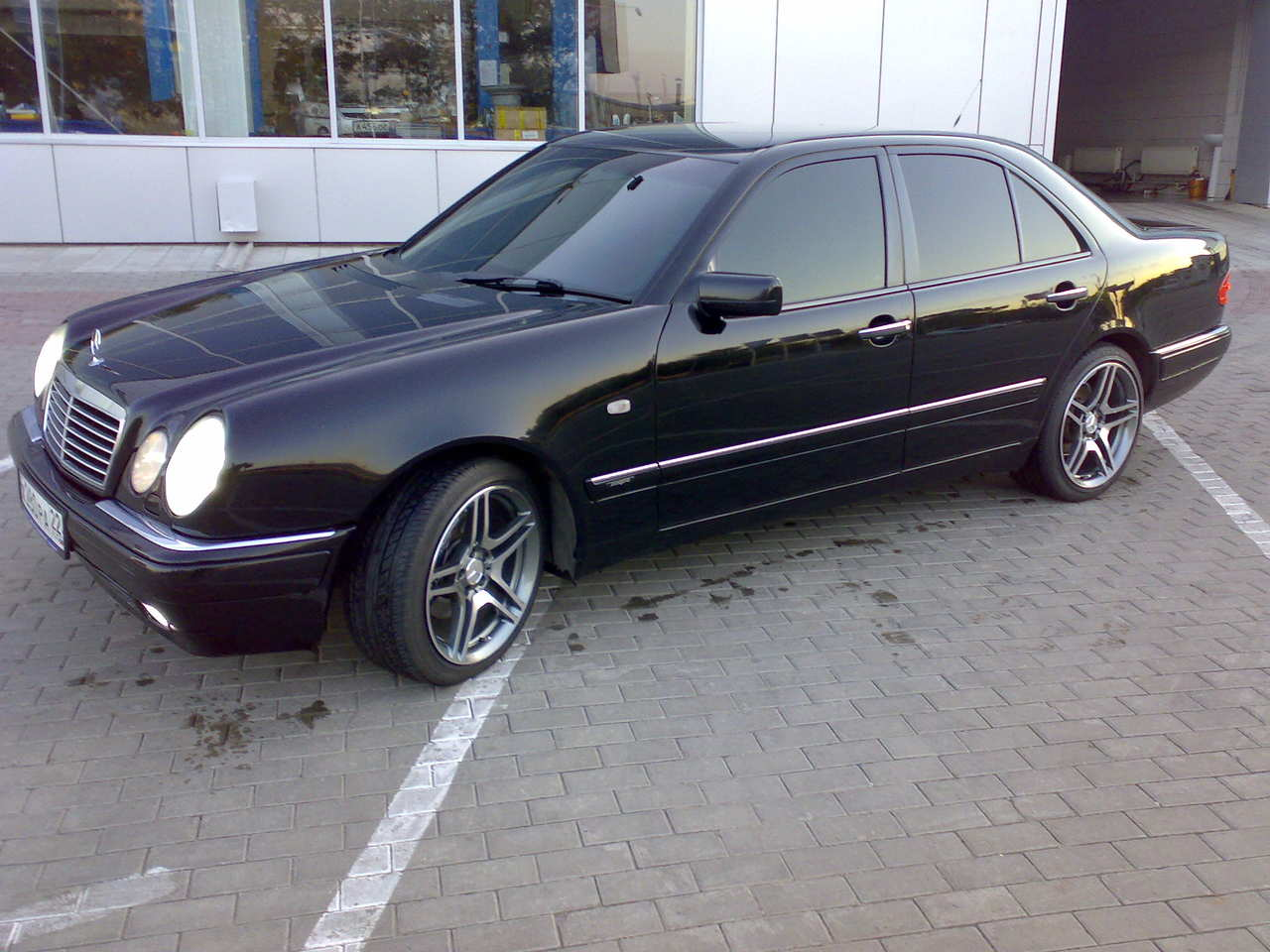 1996 mercedes benz e class pictures 2800cc gasoline fr for Mercedes benz 1996