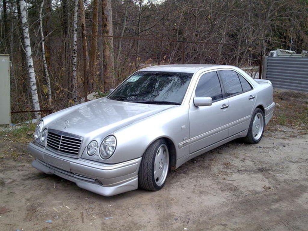 1997 Mercedes Benz E-class Photos