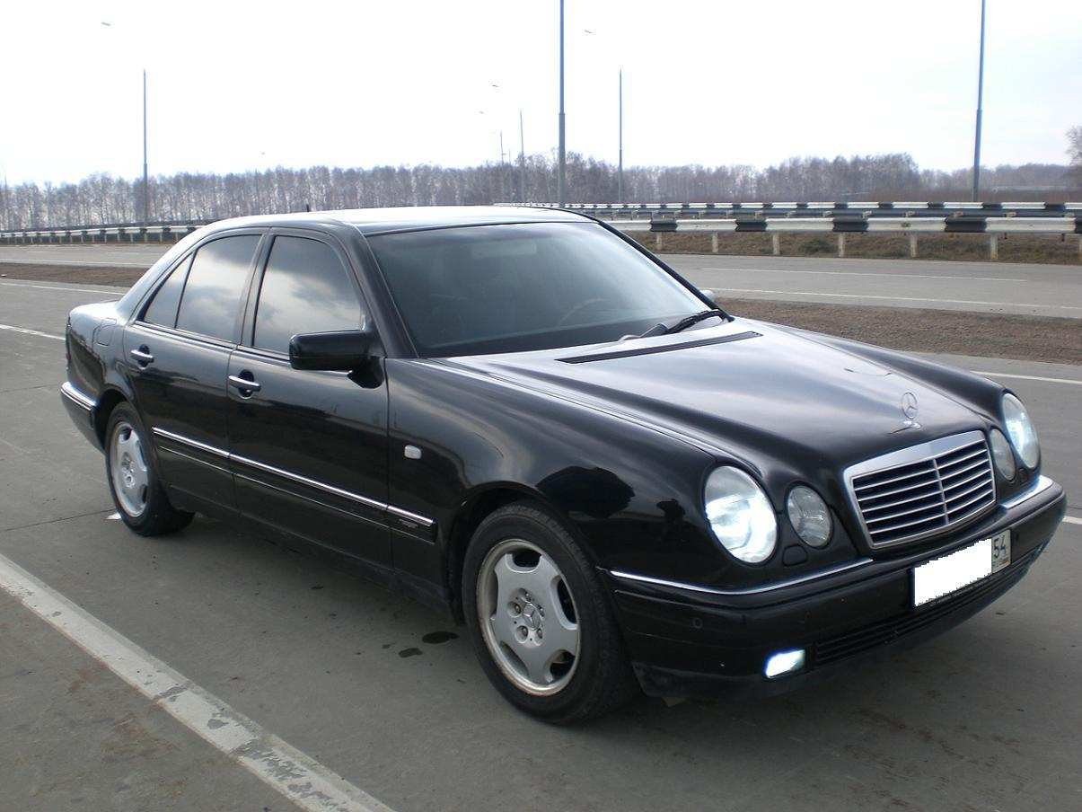 Service manual 1998 mercedes benz e class how to replace for Mercedes benz e320 service manual