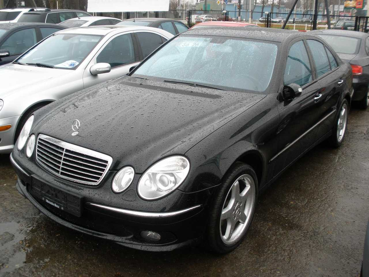 2002 mercedes benz e class for sale