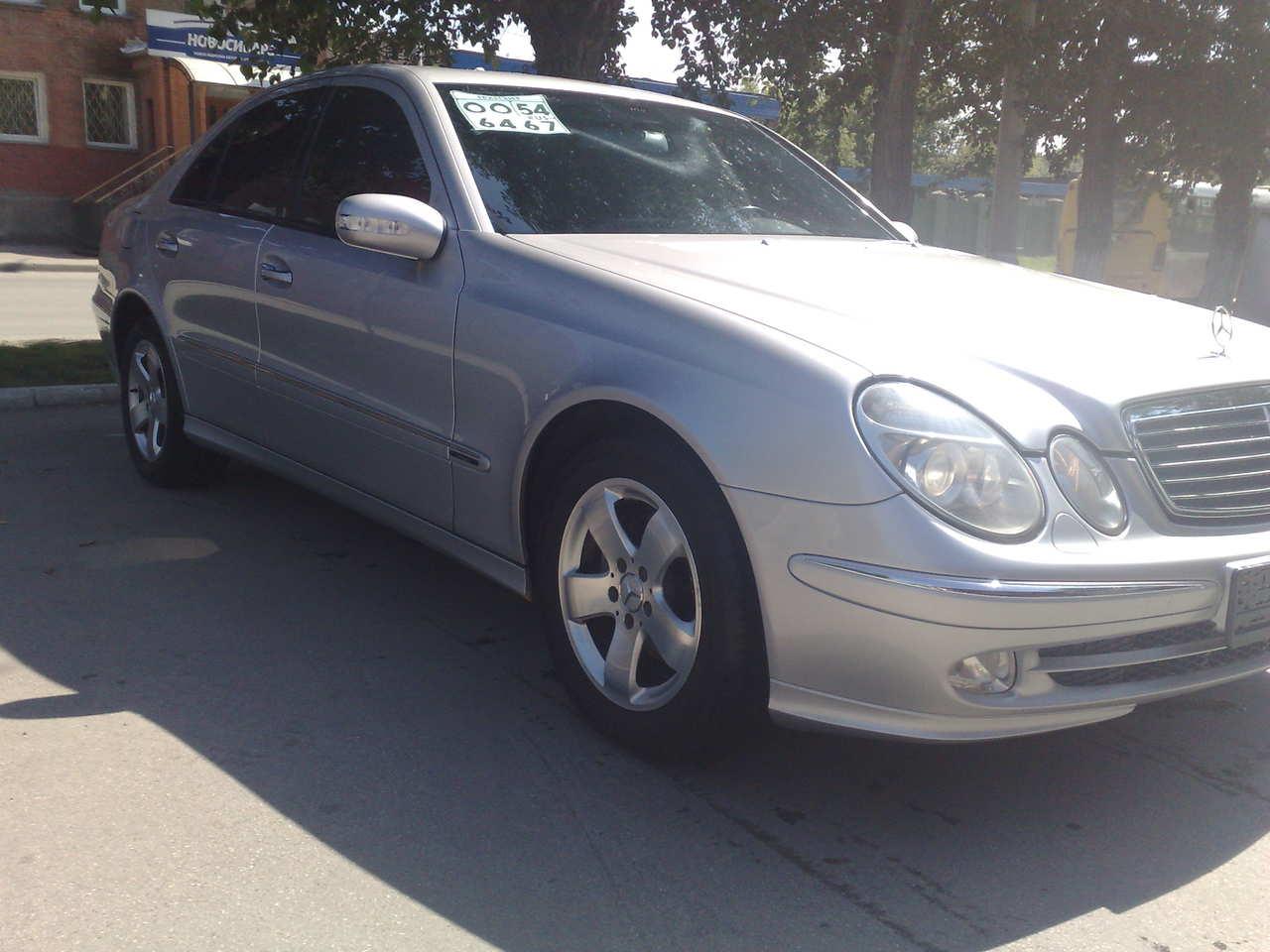 2003 mercedes benz e class photos 2 6 gasoline fr or rr for 2003 mercedes benz e class