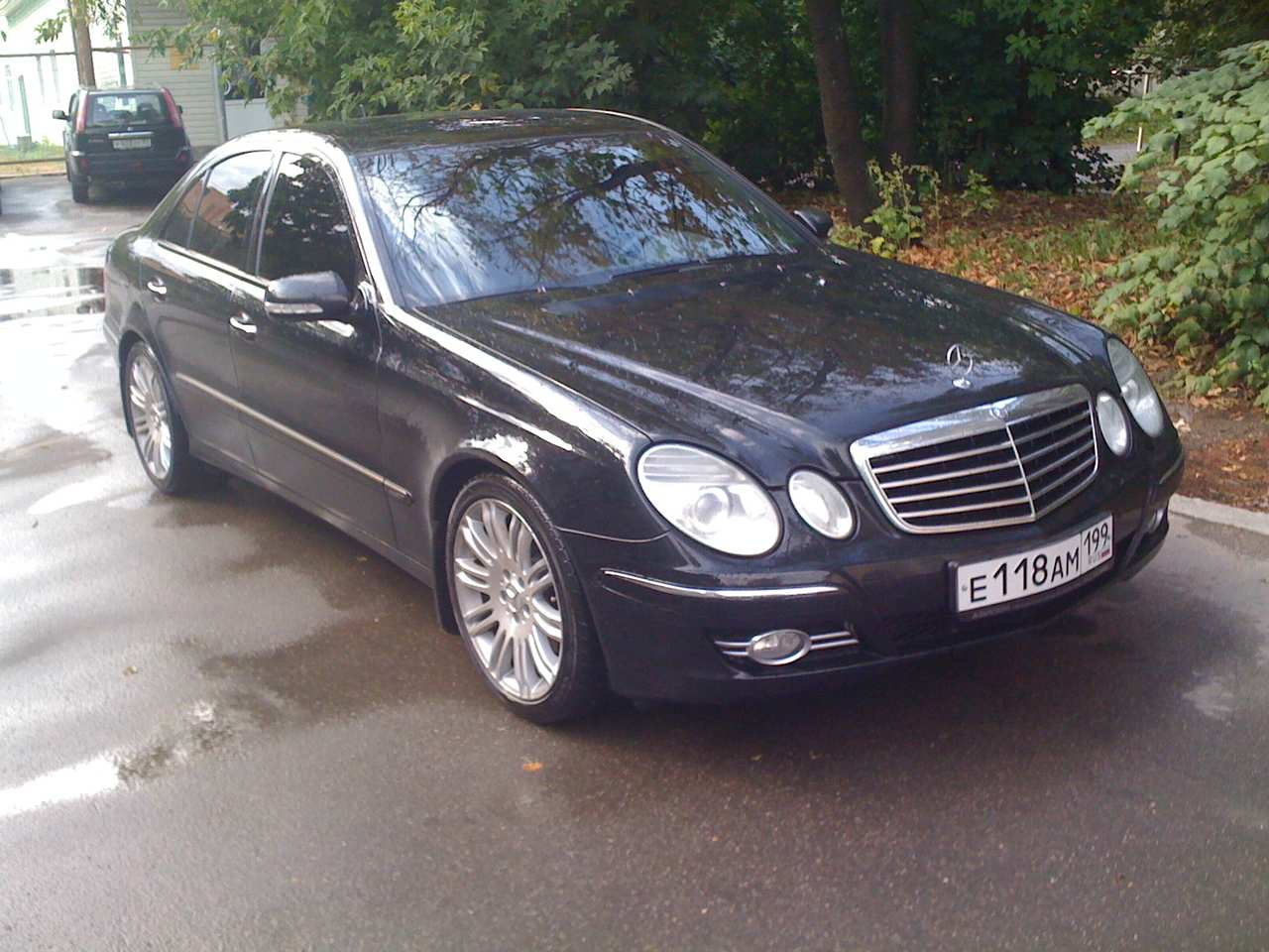 2007 mercedes benz e class pics 3 0 gasoline fr or rr. Black Bedroom Furniture Sets. Home Design Ideas