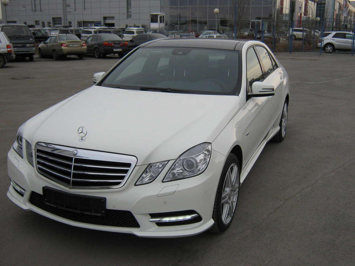 2012 Mercedes Benz E