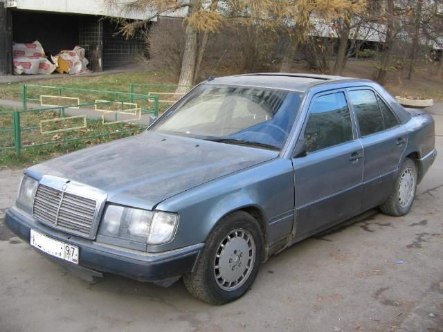 1988 mercedes benz e230 pictures 2300cc manual for sale for Mercedes benz e230