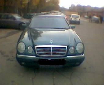 Used 1996 mercedes benz e230 images 2300cc gasoline fr for Mercedes benz approved oil list